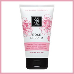 Apivita Rose Pepper Deep Exfoliating Cream