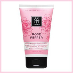 Apivita Rose Pepper Firming and Reshaping Body Cream