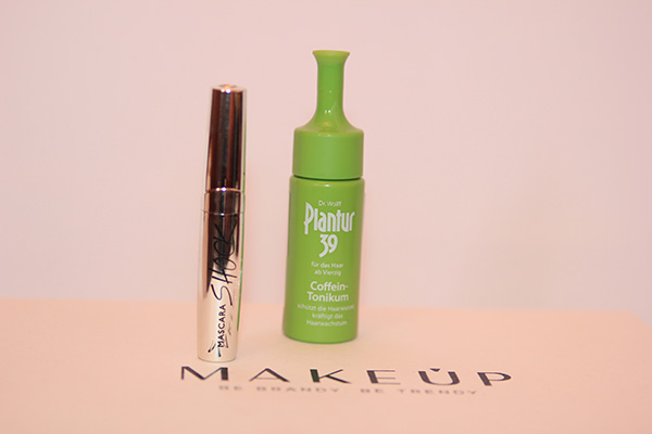 MakeUp beauty box Collistar Mascara Shock и Plantur Coffein Tonikum