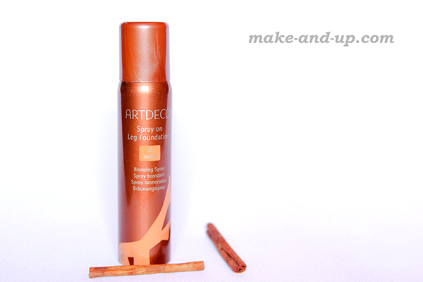 Artdeco Spray on Leg Foundation обзор