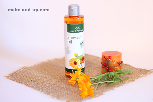 AlpStories Marigold Shower Oil