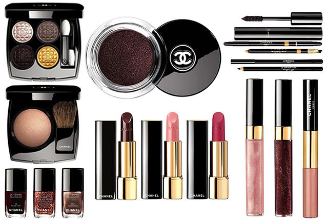 Chanel Rouge Noir Absolument Makeup Collection for Christmas 2015