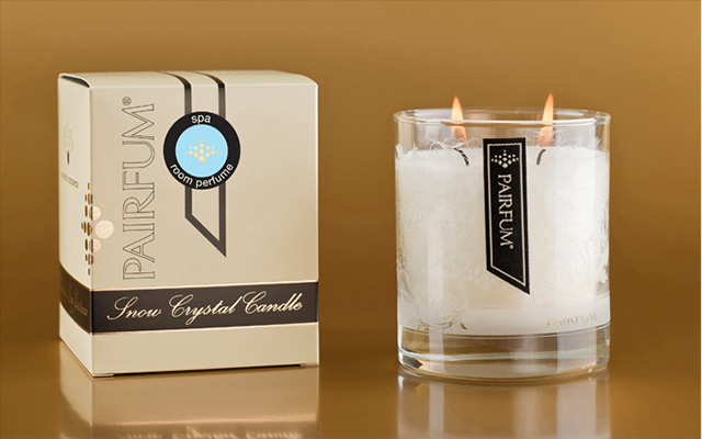 Pairfum Snow Crystal Candle Spa