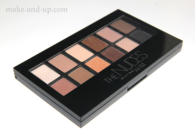 Maybelline The Nudes Eyeshadow Palette обзор
