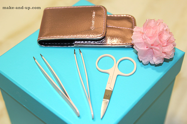Missame Tweezers and Scissors Set For Eyebrows Shaping
