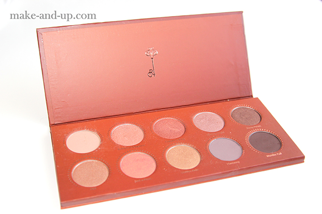 Zoeva Rose Golden Palette отзывы