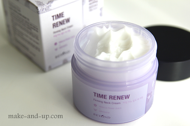 Beyond Time Renew Firming Neck Cream отзыв