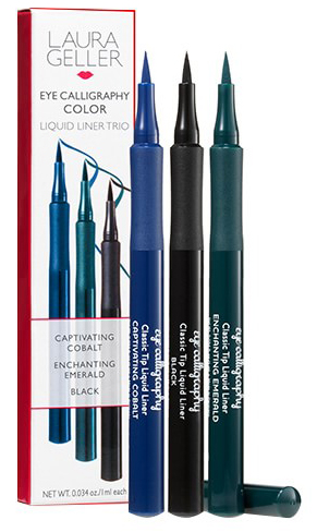 Laura Geller Eye Calligraphy Color Liquid Liner Trio