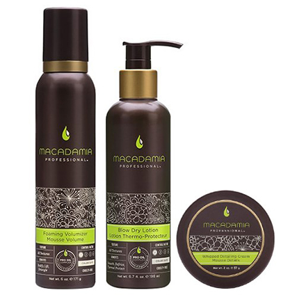 Macadamia Professional Get The Look Volumizing Set