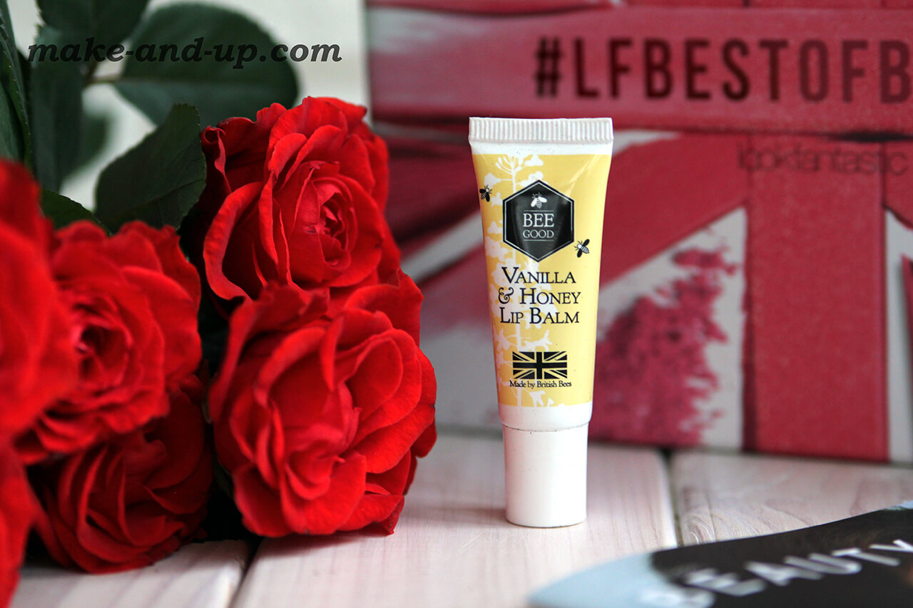 Бальзам для губ Bee Good Vanilla And Honey Lip Balm отзыв