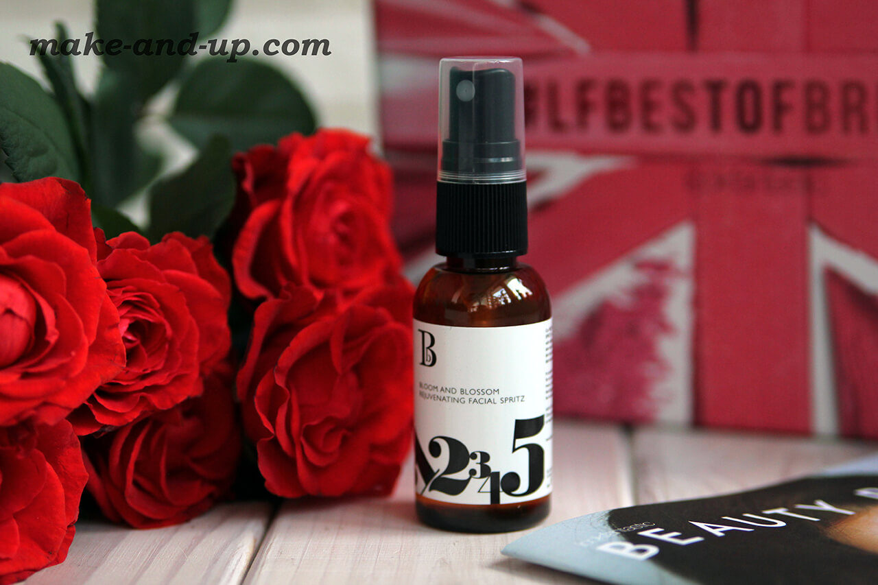 Спрей для лица Bloom And Blossom Rejuvenating Facial Spritz отзыв