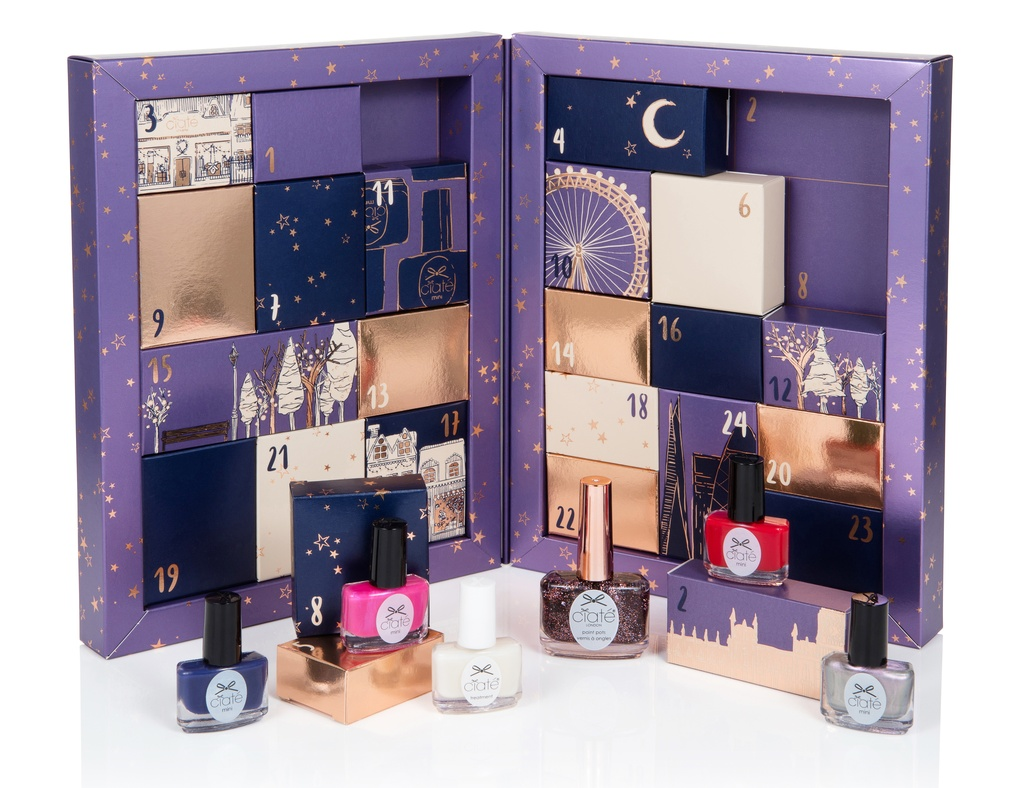 Адвент-календарь Ciaté Mini Mani Month 2016 Nail Polish Advent Calendar