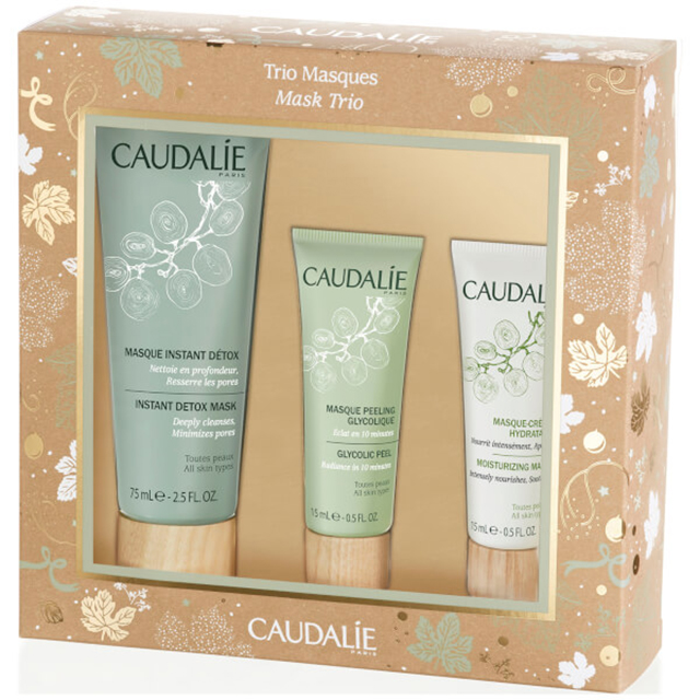 Набор масок Caudalie Christmas Mask Trio купить