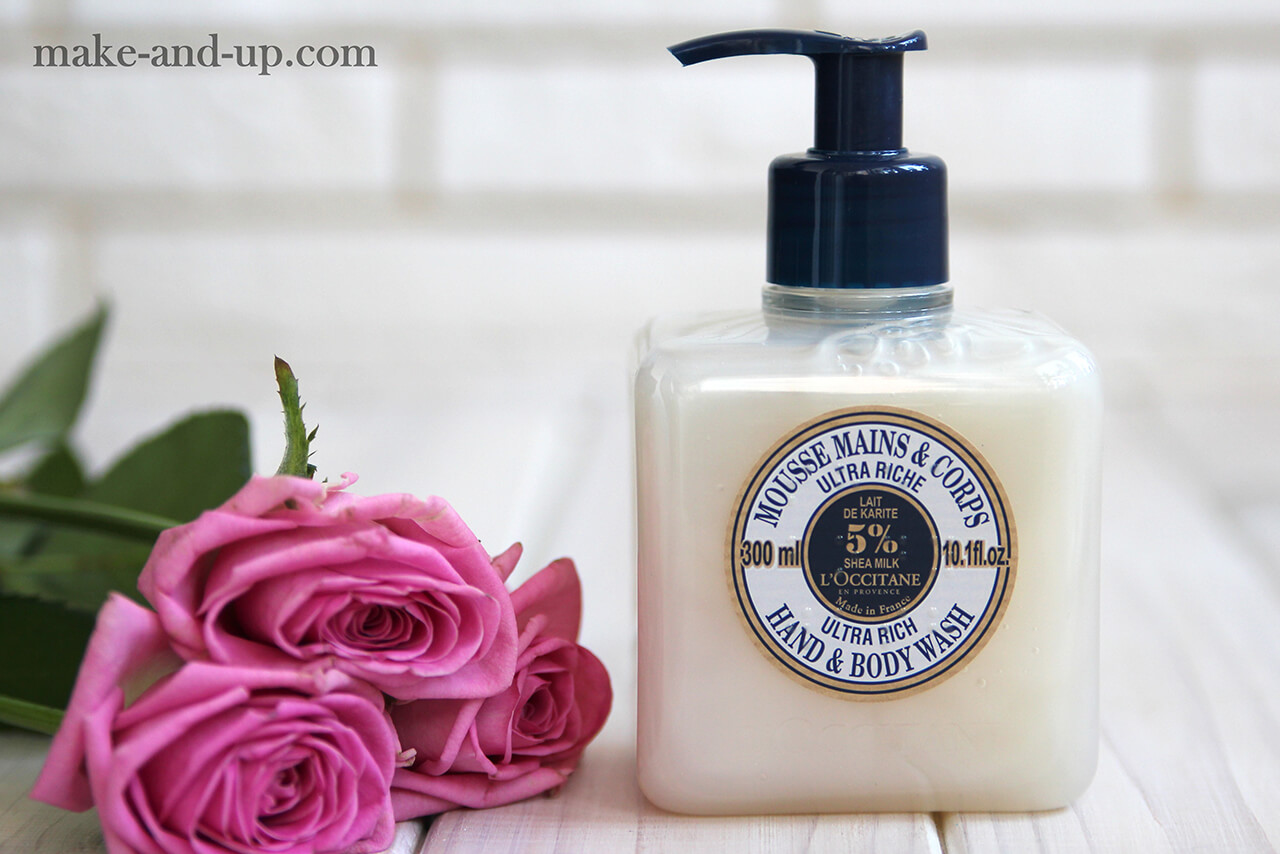 гель для душа L'Occitane 5% Shea Milk Ultra Rich Hand & Body Wash отзывы