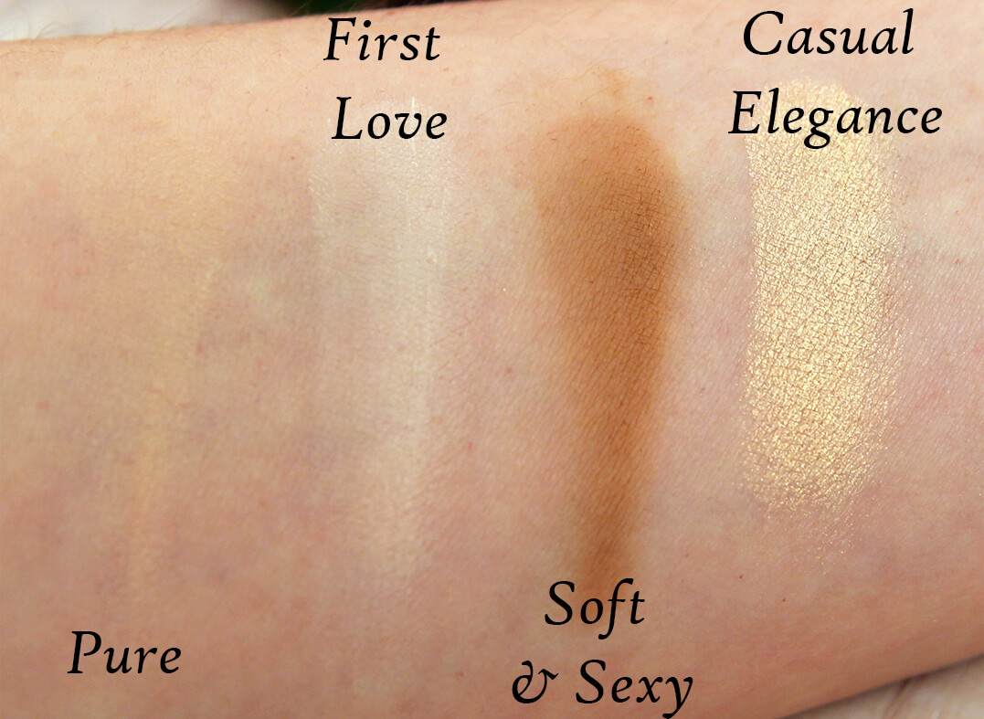 Zoeva Naturally Yours Palette свотчи