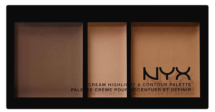 Палетка для контурирования NYX Professional Makeup Cream Highlight & Contour Palette