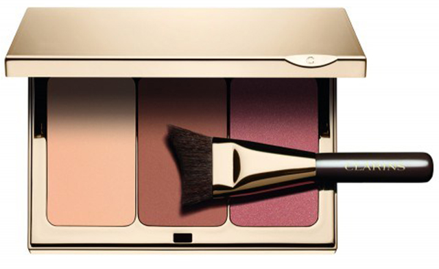 Clarins Limited Edition Face Contouring Palette & Brush купить