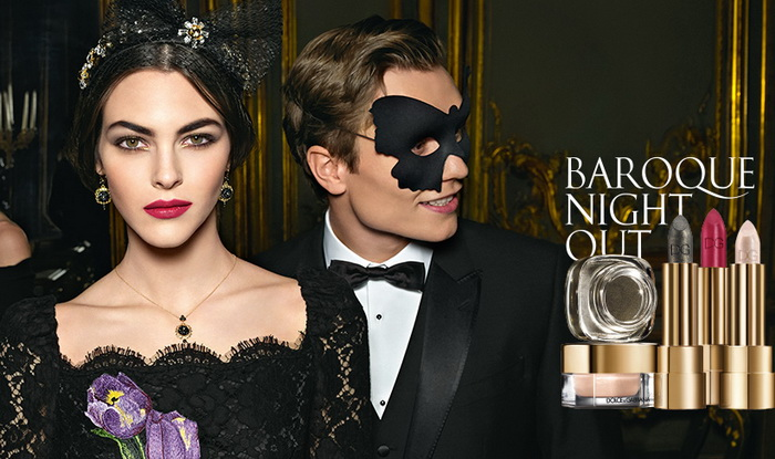 Dolce & Gabbana Baroque Night Out Makeup Collection Christmas Holiday 2016-2017
