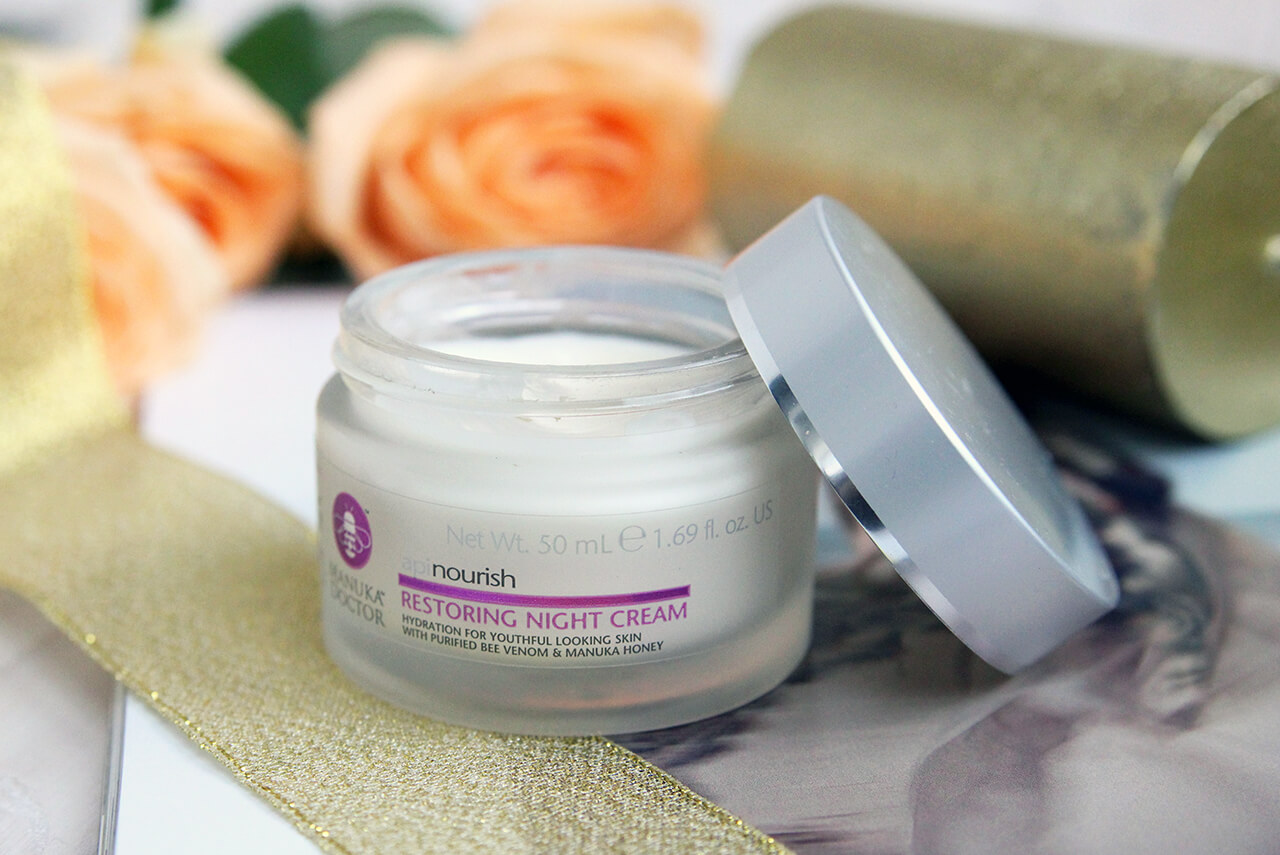 Ночной восстанавливающий крем для лица Manuka Doctor Apinourish Restoring Night Cream