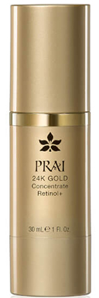 Сыворотка для лица с ретинолом PRAI 24K GOLD Concentrate Retinol+