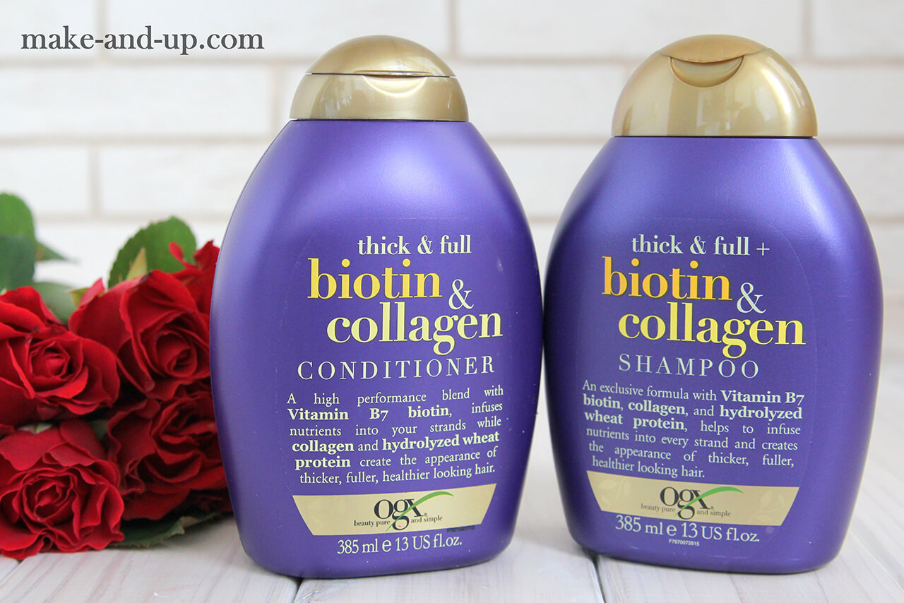 ogx biotin collagen отзывы