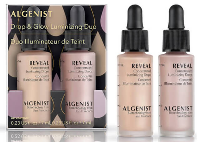 жидкие хайлайтеры Algenist Drop And Glow Luminising Duo