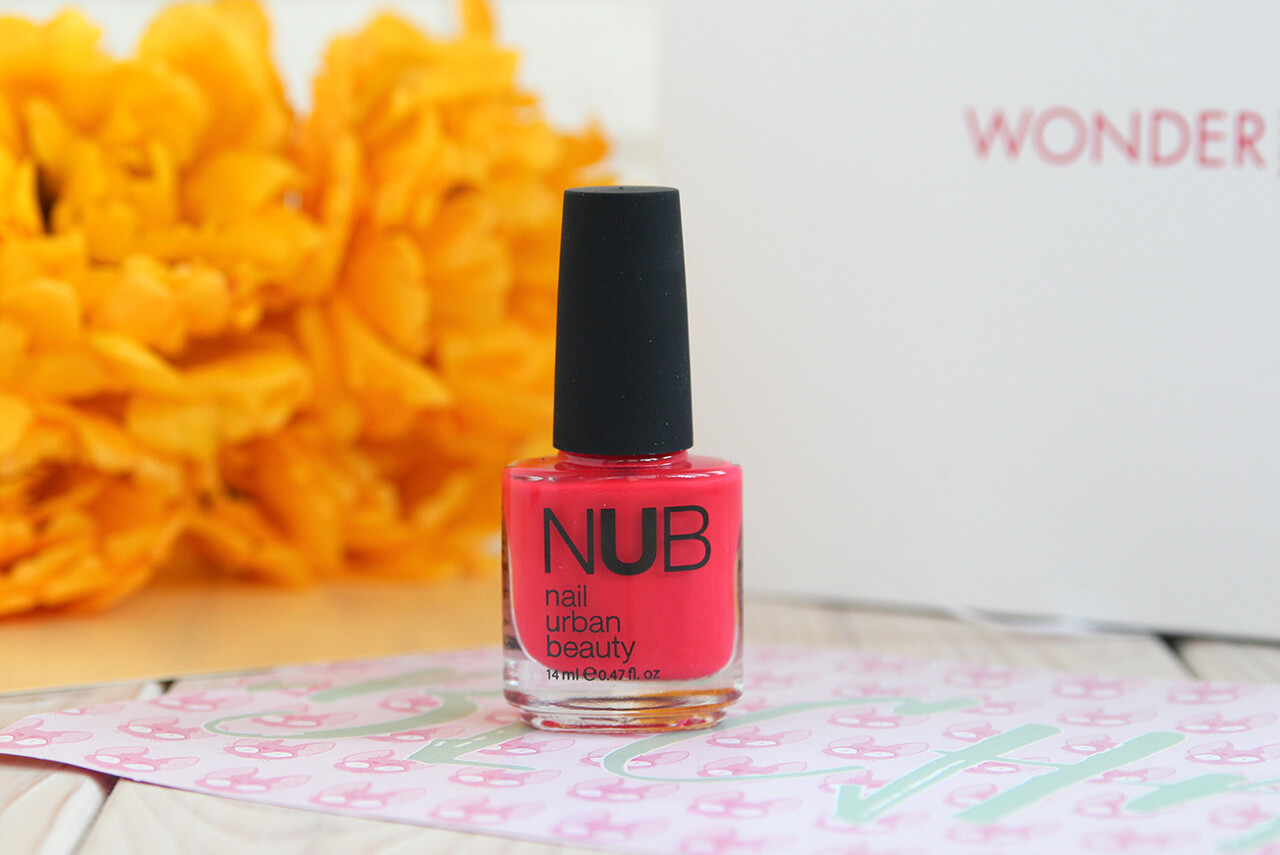 Лак для ногтей NUB Nail Urban Beauty отзыв