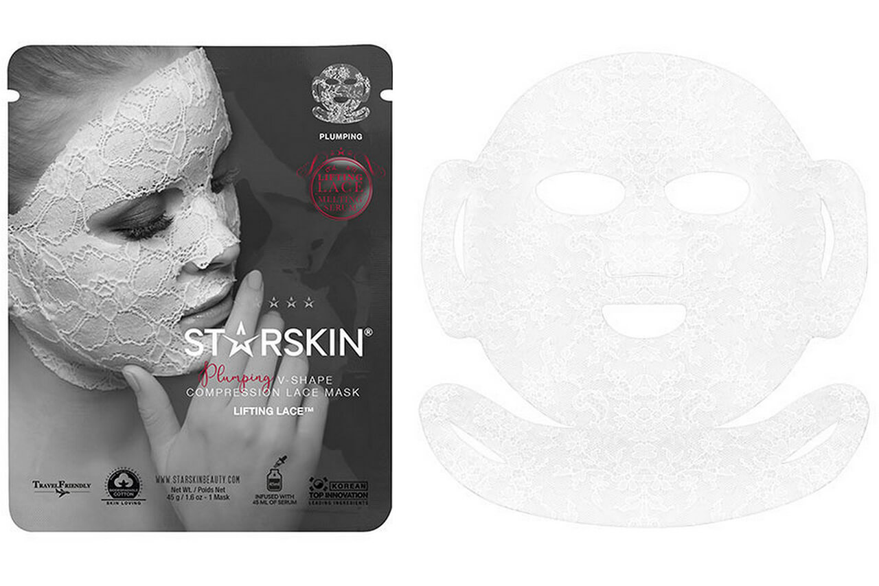 Starskin Lifting Lace Plumping V-Shape Compression Lace Mask отзыв
