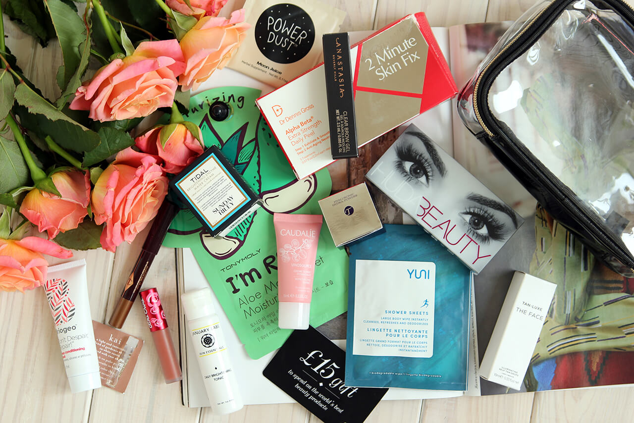 cult beauty goody bag summer 2017 обзор