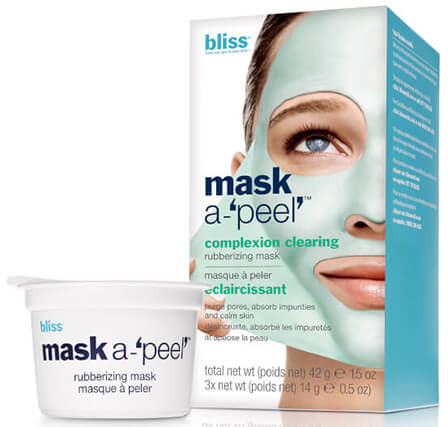Маска для лица Bliss Mask A-'Peel' Complexion Clearing Rubberizing Mask