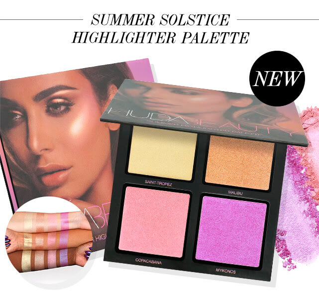 хайлайтер Huda Beauty Summer Solstice Highlighter Palette купить