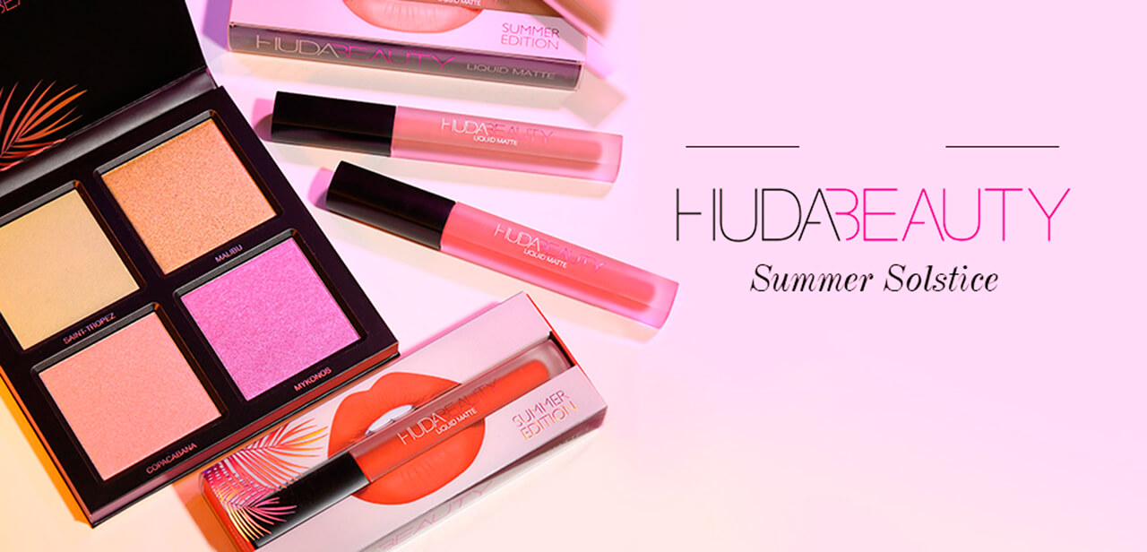 Huda Beauty Summer Solstice Collection купить