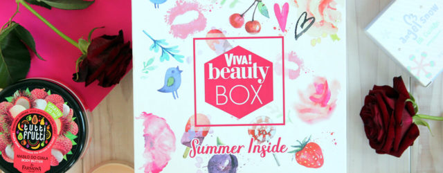 Viva! Beauty Box Summer Inside 2017 обзор