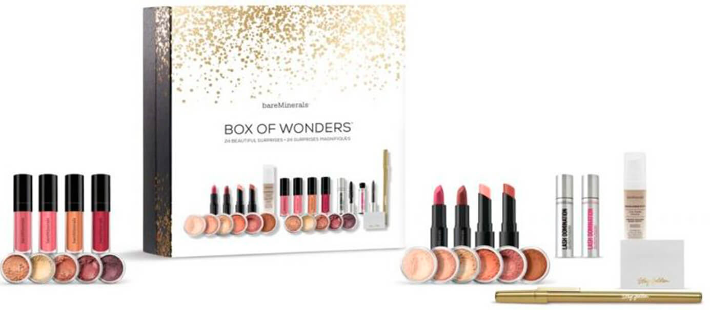 Адвент-календарь Bare Minerals Box of Wonders Advent 2017