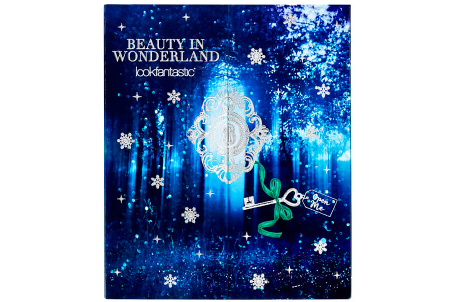 Адвент-календарь Lookfantastic Beauty in Wonderland Advent Calendar 2017 наполнение