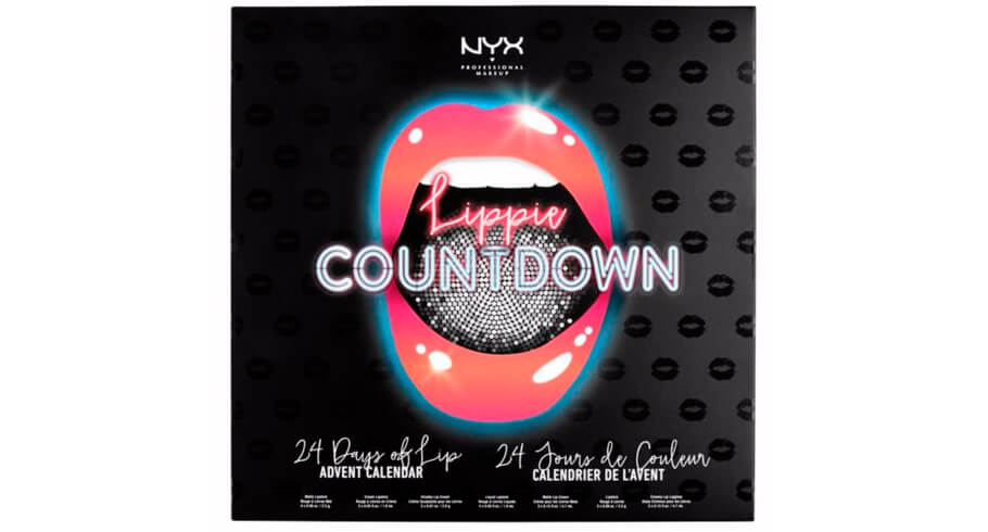 Адвент-календарь NYX Professional The Lippie Countdown Advent Calendar