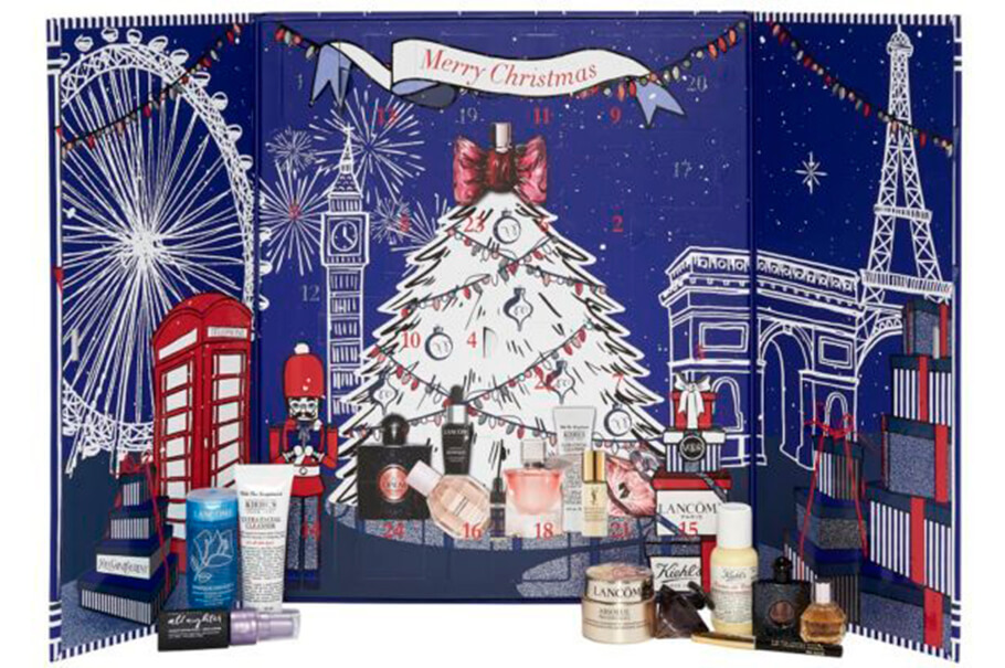 Адвент-календарь Selfridges Beauty Advent Calendar 2017 – L'Oreal Luxe