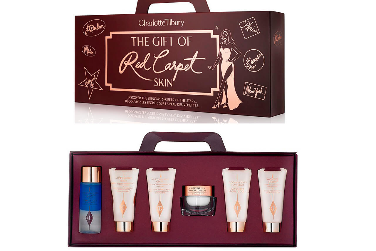 Набор уходовых средств Charlotte Tilbury The Gift of Red Carpet Skin