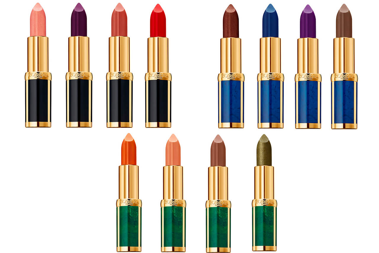 коллекция помад L'Oreal Paris Color Riche Lipstick x Balmain Paris Limited Edition