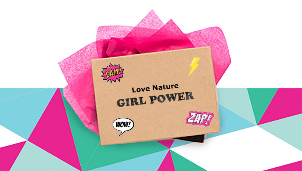 Love Nature Girl Power Beauty Box