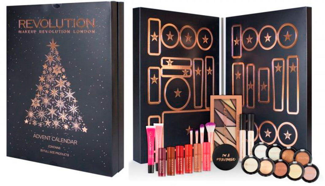 Адвент-календарь Makeup Revolution Advent Calendar