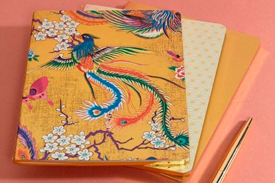 Набор блокнотов Paperchase Golden Palace Pack of 3 Notebooks