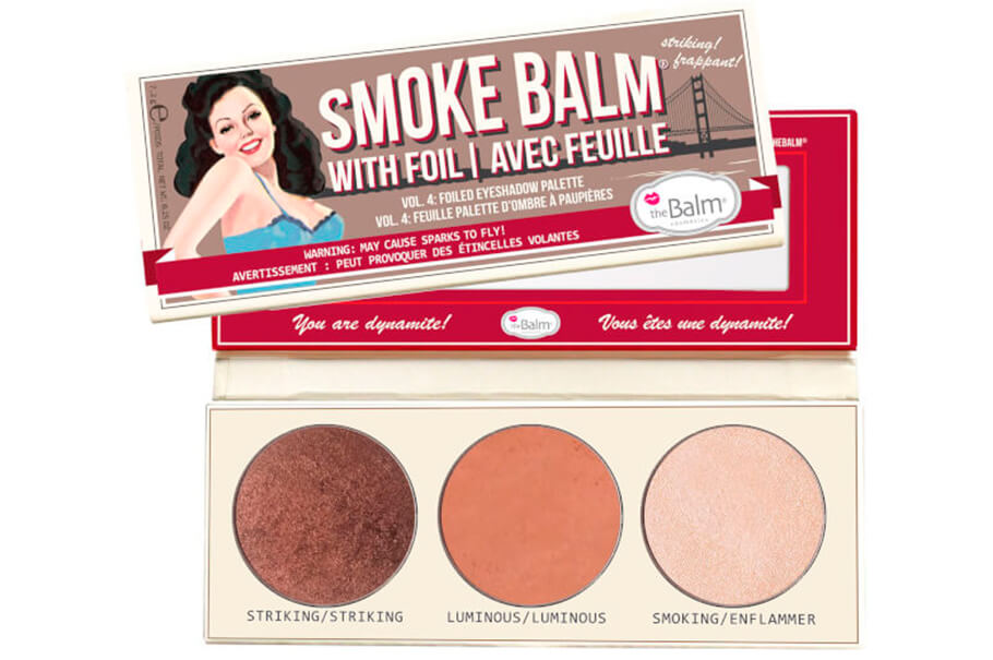 Палетка теней theBalm Smokebalm Eyeshadow Palette Volume 4