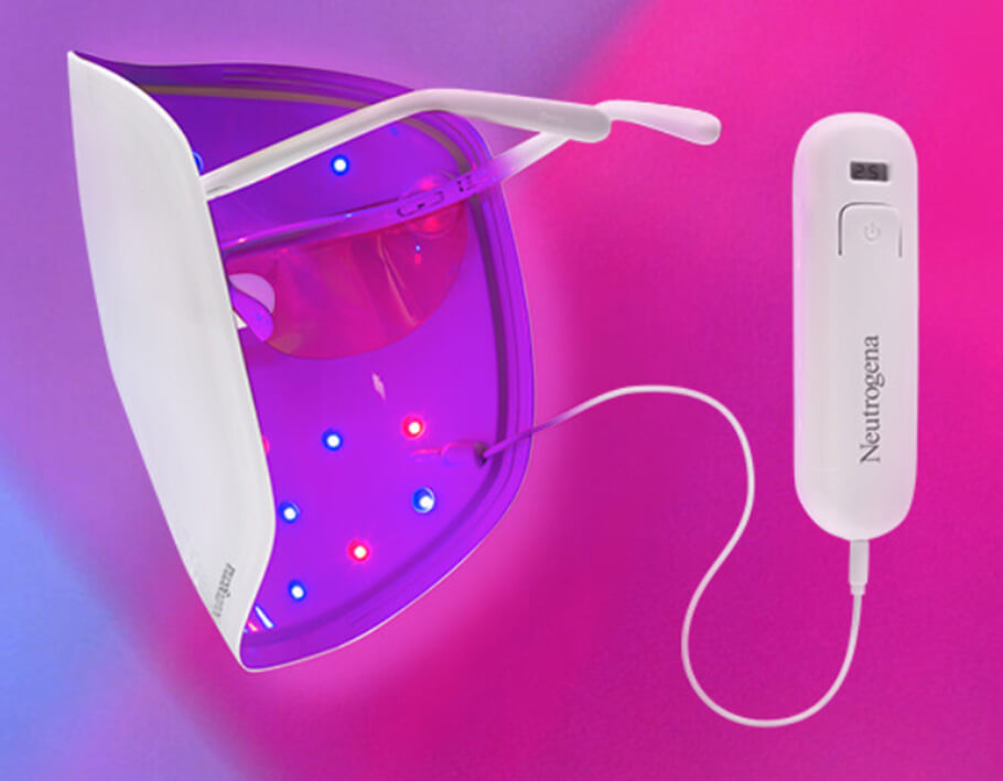 Светодиодная маска Neutrogena Visibly Clear Light Therapy Acne Mask