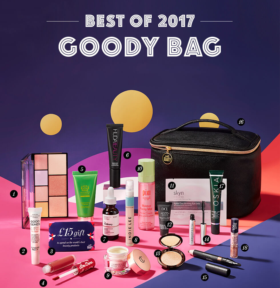 Cult Beauty Best Of 2017 Goody Bag наполнение