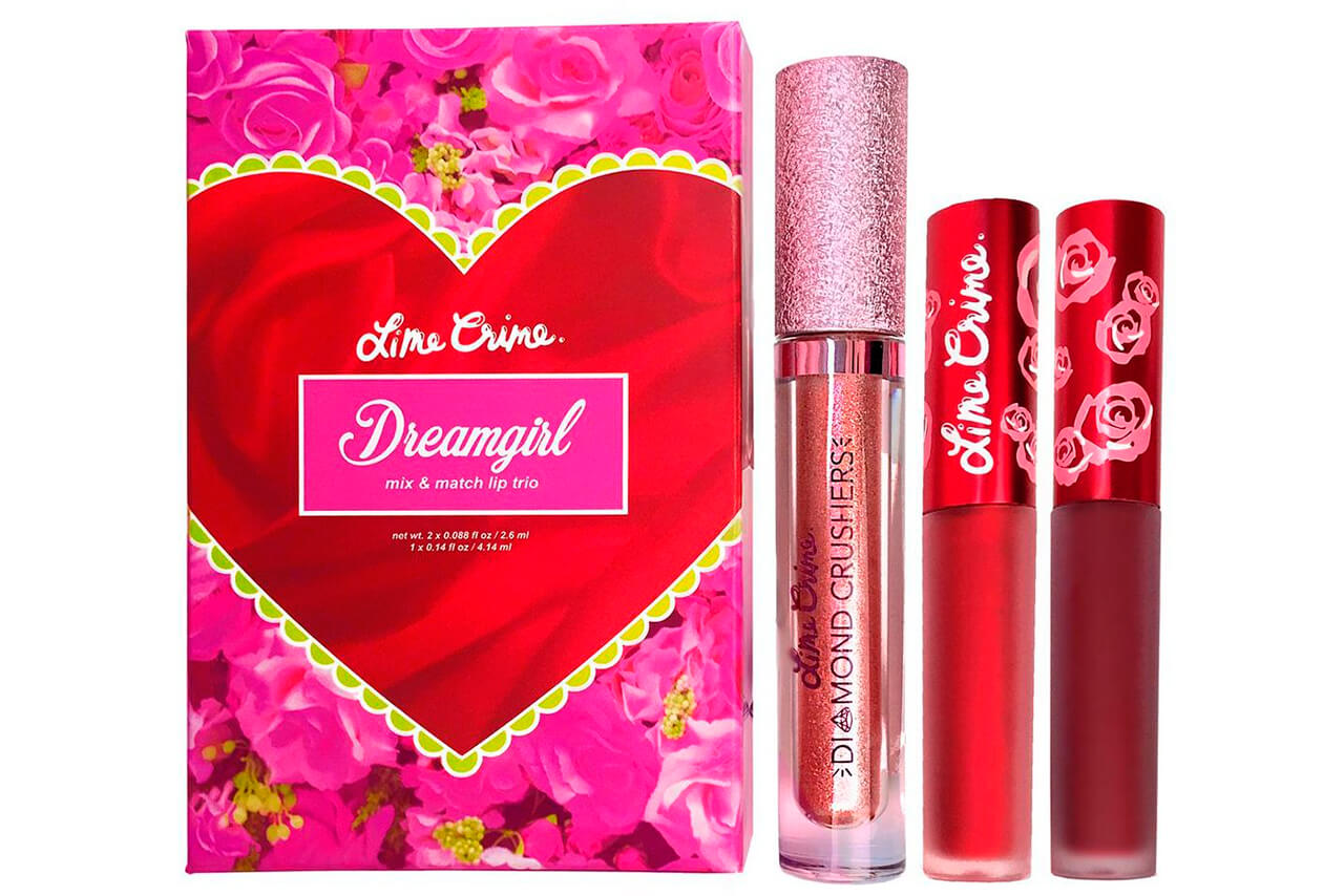 Набор помад Lime Crime Dreamgirl Trio