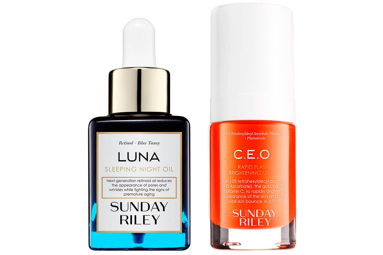 Sunday Riley CEO Serum + Luna Kit купить
