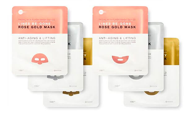 Набор масок для лица Skin Inc Facial In A Flash Multi-Masking Bento Set