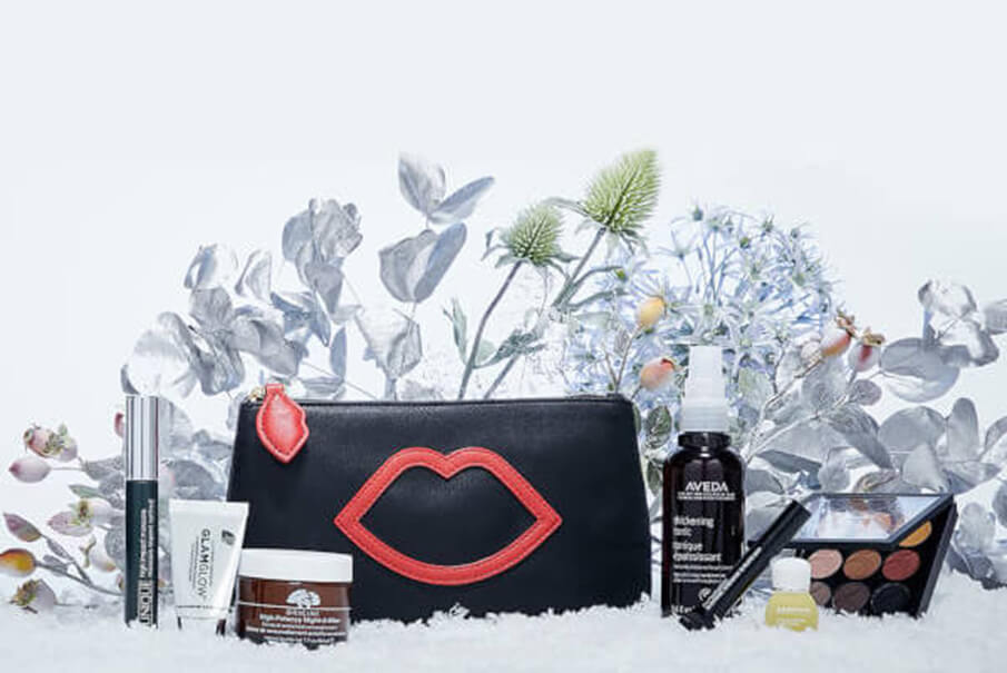 набор Lulu Guinness x Lookfantastic Makeup Bag
