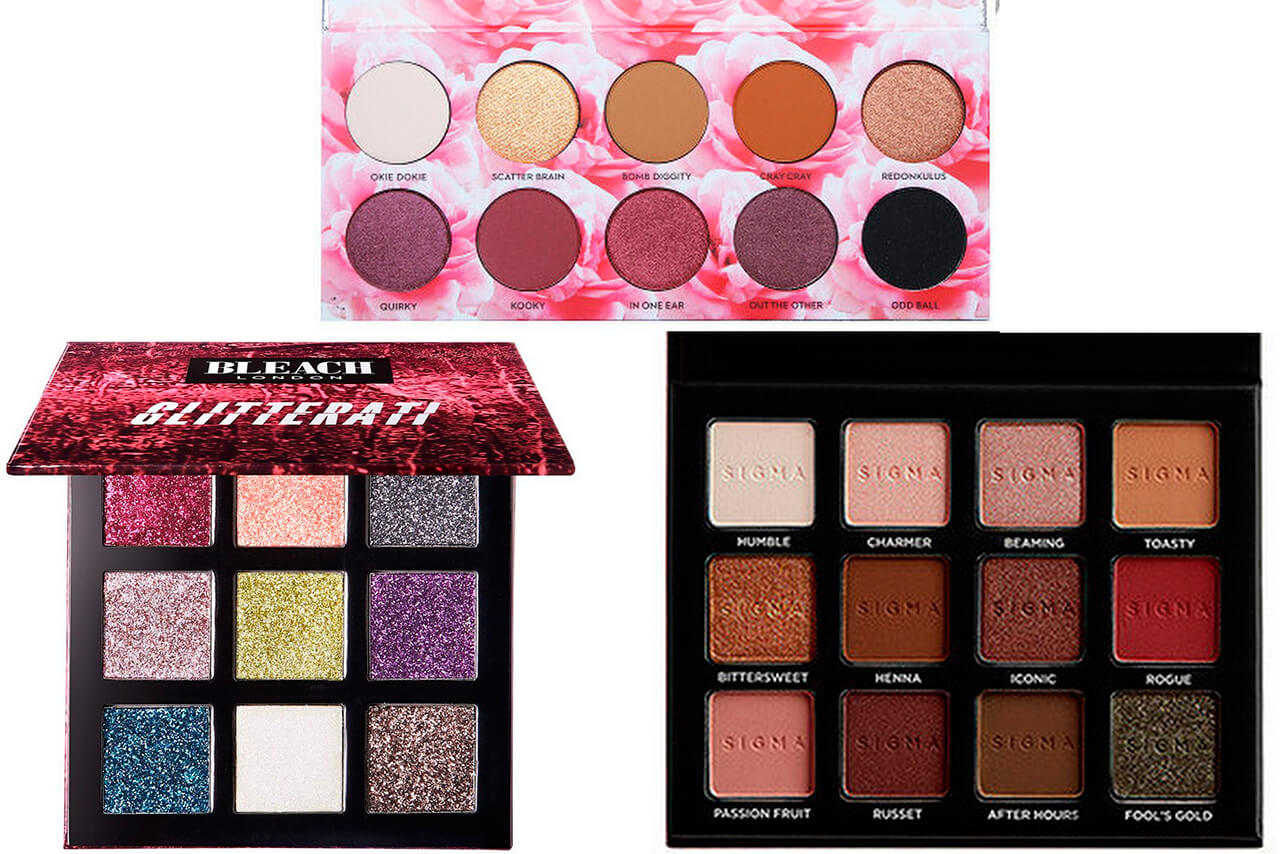 палетка Bleach London Glitterati Palette All That Glitters